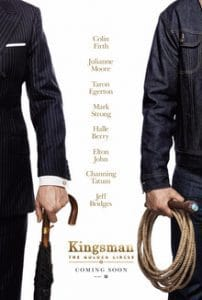 kingsman 2 movie poster