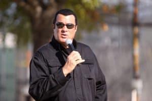 steven seagal speaking in Arizona