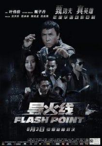 donnie yen in 'flash point'