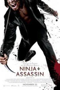 poster of the movie ninja assassin
