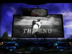 The End movie sign