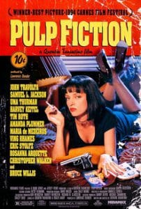 john travolta in 'Pulp Ficiton'