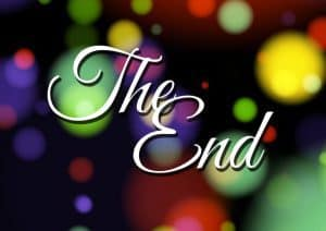 In the end of a movie