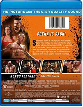 boyka undisputed - the fourth installment on blu-ray