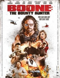 boone the bounty hunter poster