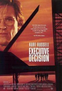 executive decision movie poster