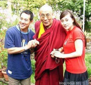 jet li and dalai lama