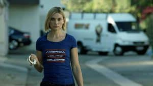 Spencer Grammer plays Kat in Boone The Bounty Hunter