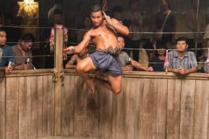 tony jaa in Triple Threat