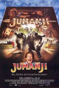 jumanji starring robin williams